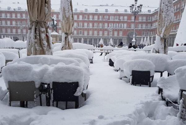 Los seguros y la continuidad de negocio tras la nieve y el frío extremo de Filomena